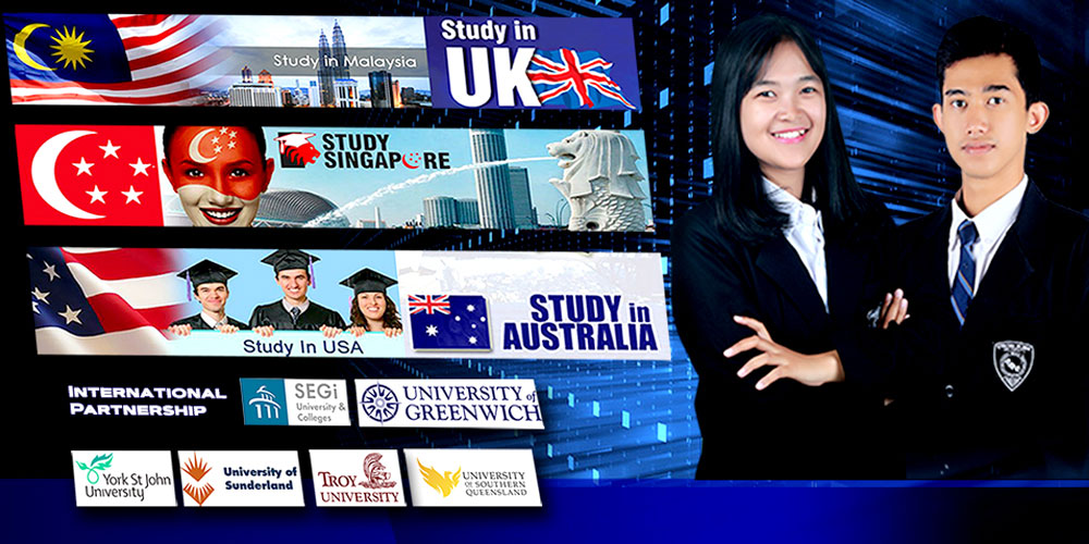 We Have International Program